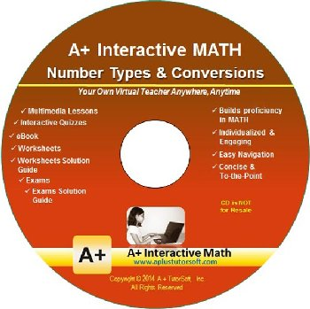 Number Types & Conversions Supplemental Math CD-ROM (Supplemental Software)