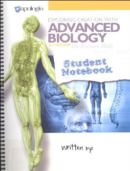 Advanced Biology: Human Body Student Study & Lab Notebook 2nd Edition