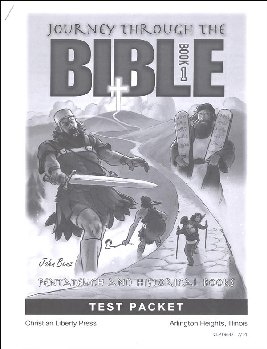 Journey Through the Bible Book 1: Pentateuch and Historical Books Tests