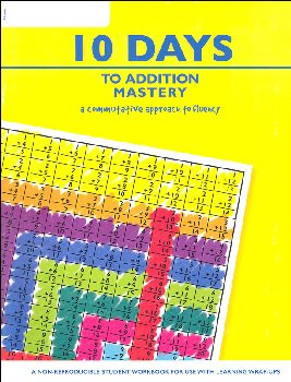 10 Steps to Addition Mastery Student Workbook