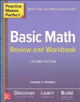 Practice Makes Perfect: Basic Math Review & Workbook