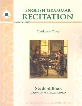 English Grammar Recitation Workbook III Student Book