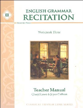 English Grammar Recitation Workbook III Teacher Guide