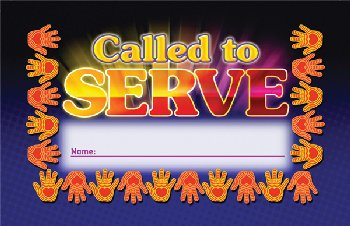 Called to Serve Incentive Punch Card