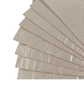 "Tac-On Wall Kit - Light Gray (9"" x 12"") 8 Sheets"