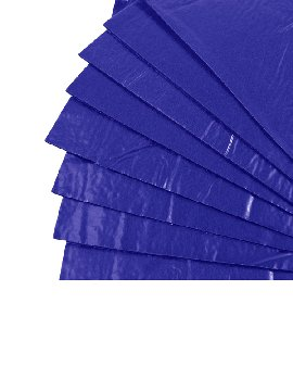 "Tac-On Wall Kit - Royal Blue (9"" x 12"") 8 Sheets"