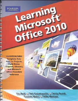 Learning Microsoft Office 2010 Student Edition: Standard Edition with CD-ROM
