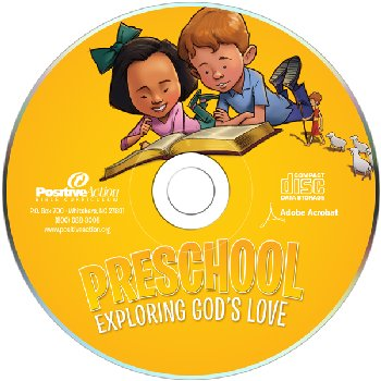 Exploring God's Love Preschool Teacher Manual on CD