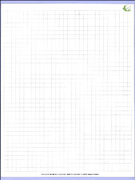"Grid Scratch Sheet / Reusable Scratch Sheet (8.5 x 11"")"
