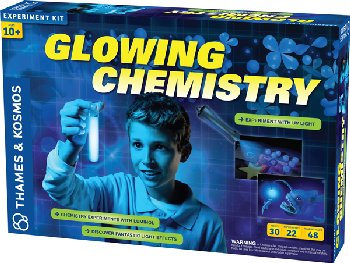Glowing Chemistry - Experiment With Luminescence (Experiment Kit)
