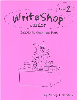 WriteShop Junior Fold-N-Go Grammar Pack - Level 2