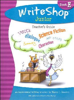WriteShop Junior Level E Teacher's Guide