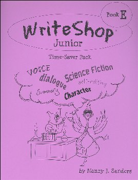 WriteShop Junior Level E Time-Saver Pack