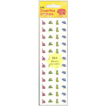 Dinosaur Incentive Stickers