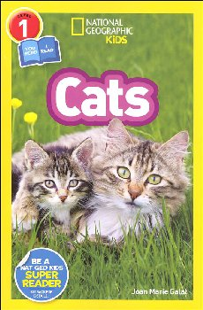 Cats (National Geographic Reader Level 1 Co-Reader)