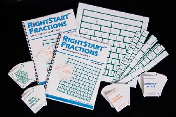 RightStart Mathematics Fraction Kit