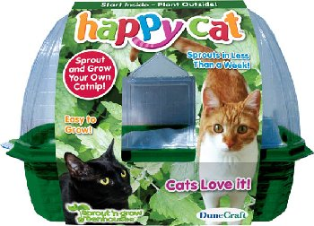 Happy Cat Greenhouse
