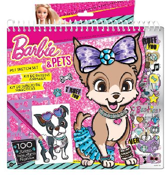 "Barbie ""Purrr-fect Pet"" Sketch Portfolio"