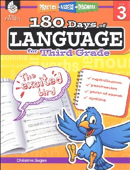 180 Days of Language for Third Grade (Practice, Assess, Diagnose)