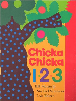 Chicka Chicka 1, 2, 3 Board Book