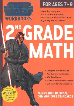 Star Wars Workbook: 2nd Grade Math