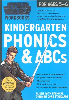 Star Wars Workbook: Kindergarten Phonics & ABCs