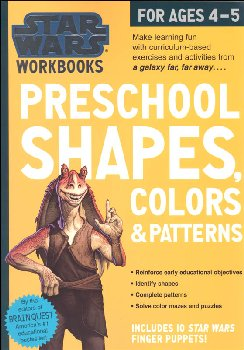 Star Wars Workbook: Preschool Shapes, Colors & Patterns