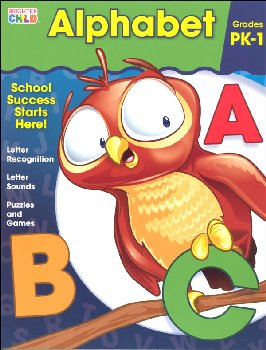 Alphabet Prekindergarten Workbook (Brighter Child)