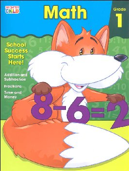 Math Grade 1 Workbook (Brighter Child)