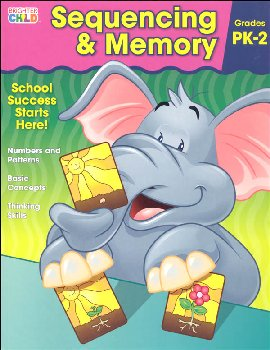 Sequencing & Memory Prekindergarten Workbook (Brighter Child)