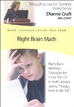 Right Brain Math DVD