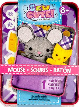 Emmie the Mouse Sew Cute! Tincredible