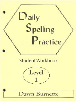 Daily Spelling Practice Level 1 Student Workbook