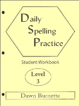 Daily Spelling Practice Level 3 Student Workbook