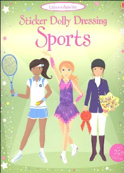 Sticker Dolly Dressing - Sports