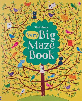 Very Big Maze Book (Usborne)
