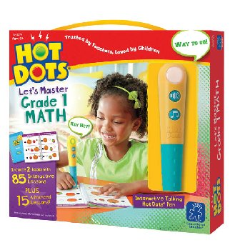 Hot Dots Let's Master Math Grade 1