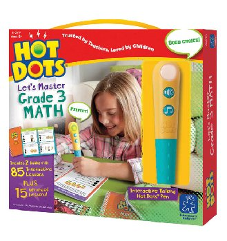Hot Dots Let's Master Math Grade 3