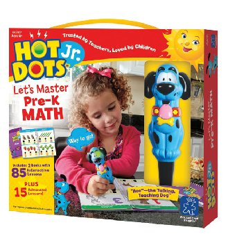 Hot Dots Let's Master Math Pre-K