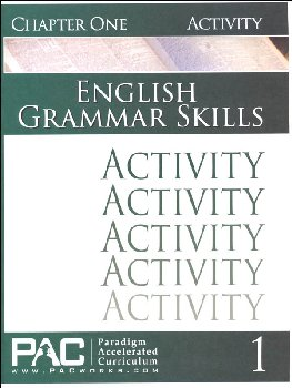 English Grammar Skills: Chapter 1 Activities