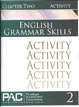 English Grammar Skills: Chapter 2 Activities