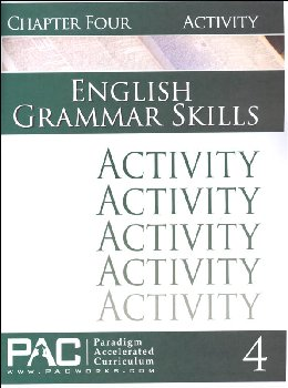 English Grammar Skills: Chapter 4 Activities
