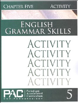 English Grammar Skills: Chapter 5 Activities