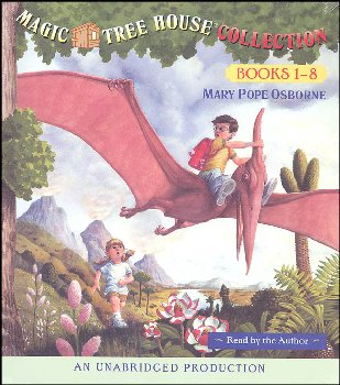 Magic Tree House Collection Audio CD (Books 1-8)