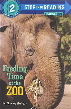 Feeding Time at the Zoo (Step into Reading Science Reader Level 2)