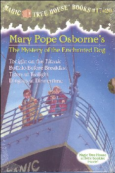 Mystery of the Enchanted Dog Boxed Set (Magic Tree House Volumes 17-20)