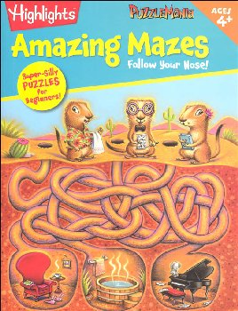 Puzzlemania Amazing Puzzles: Follow Your Nose!