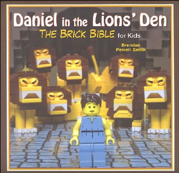 Daniel in the Lions' Den: Brick Bible for Kids