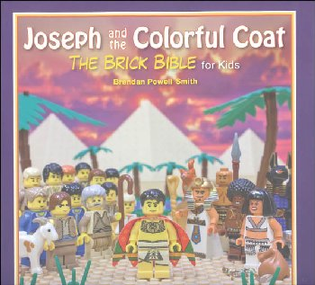 Joseph and the Colorful Coat: Brick Bible for Kids