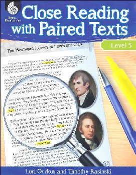 Close Reading With Paired Texts Level 5